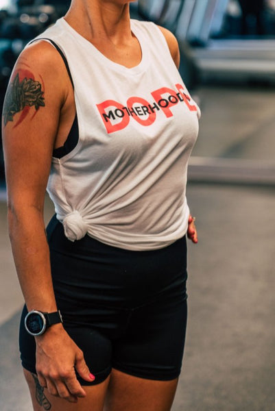 Motherhood is Dope Muscle Tee