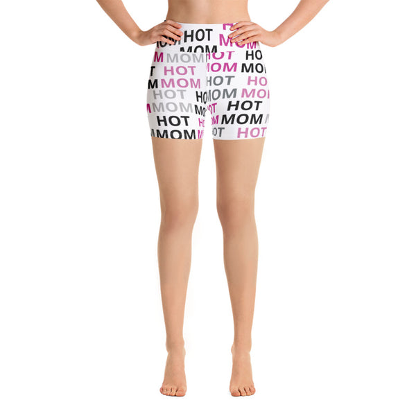 Shorts - Allover Print Hot Mom