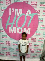Kids Tee - My Mom Is Hot Basic Tee