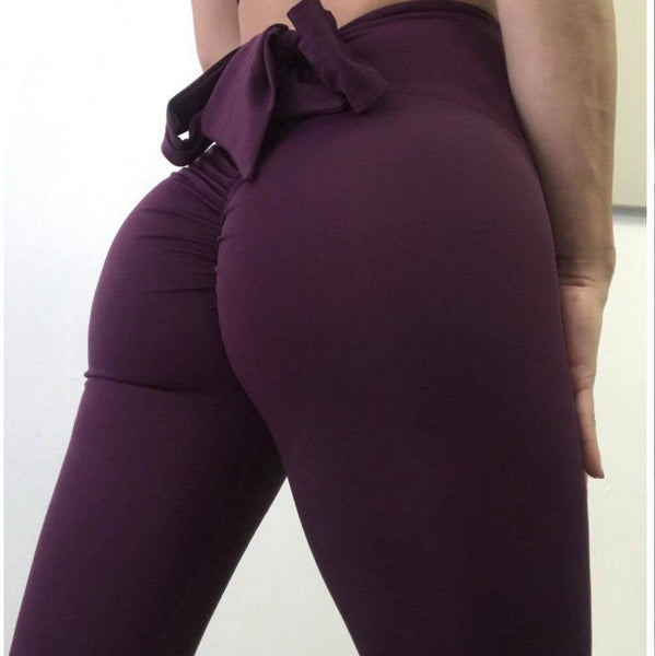 Leggings - Bow Leggings (Available in Grey only)