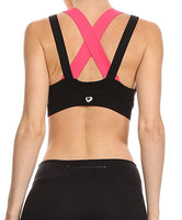 Sports Bra - Cross Back Sports Bra