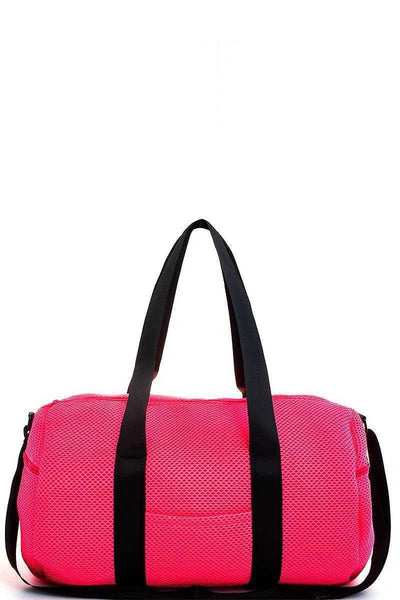 Bags - Nylon Mesh Gym Bag