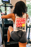 Motherhood is Dope 2 Ruffled Edge Swing Tee