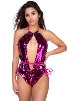 Swim - Sequin Swimsuit