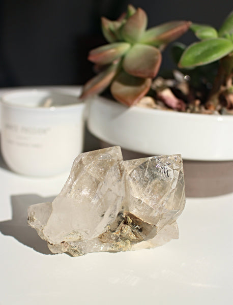 Self Healed Himalayan Quartz Cluster
