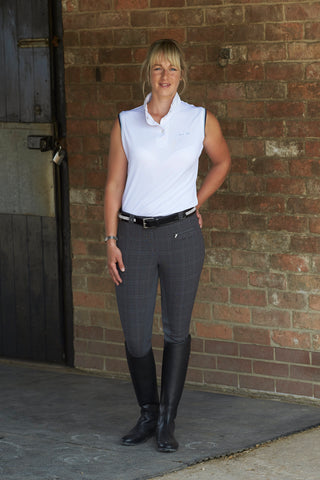 Mark Todd Collection Plaid Breeches