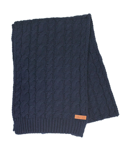 Mark Todd Collection Scarf- Knitted