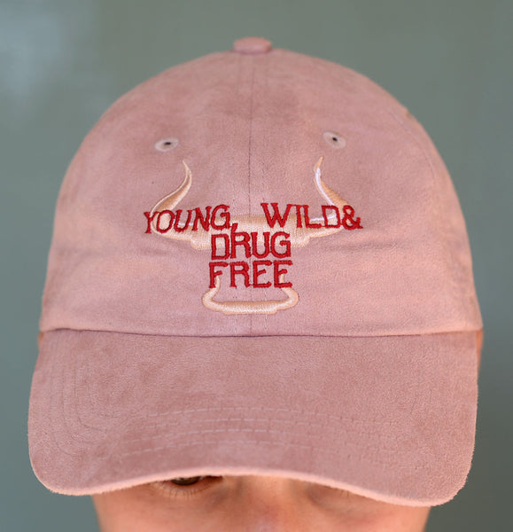 Young Wild & Drug Free Dad Cap