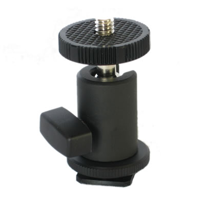 Zylight Z90 Hot Shoe Ball Mount, 19-02013