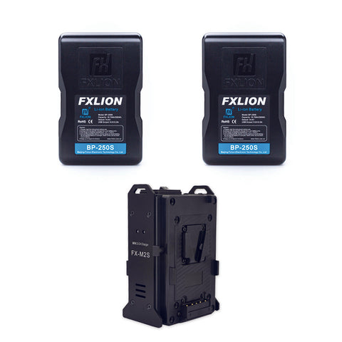 Fxlion BP-250S V-Mount Lithium-Ion Battery Kit