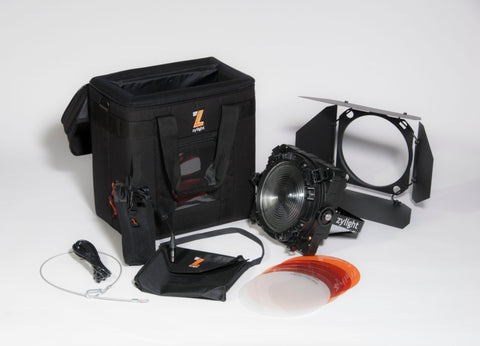 Zylight F8-100 Daylight Single Head ENG Kit w/ Case - V-Mount (5600K)