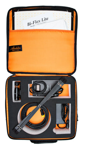 Aladdin BI-FLEX 1 Kit (50W Bi-Color) w/Soft Case and Gold-Mount Plate
