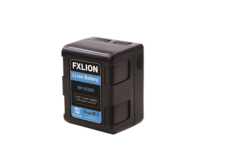 Fxlion BP-M200 Square V-Mount Compact Lithium-Ion Battery