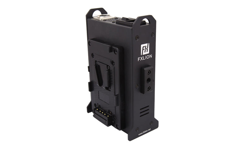 Fxlion 24V Mini Skypower Dual-Channel V-Mount Battery Output Adapter & Charger