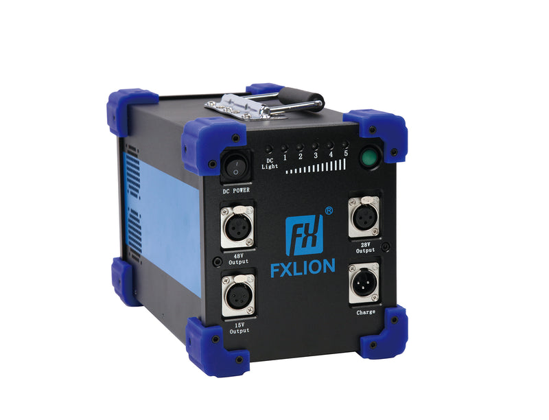 Fxlion FX-HP-7224-48D High Power 15V, 28V, & 48V Lithium-Ion Mega Battery, 620Wh