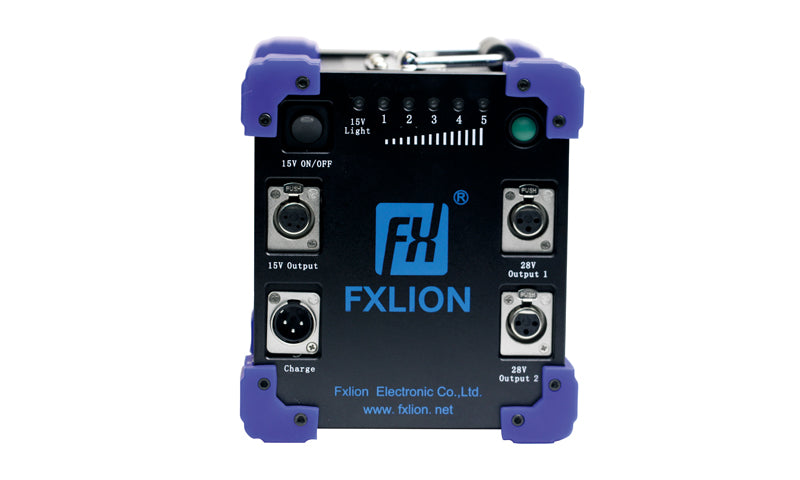 Fxlion FX-HP-7224 High Power 15V & 28V Lithium-Ion Mega Battery, 620Wh