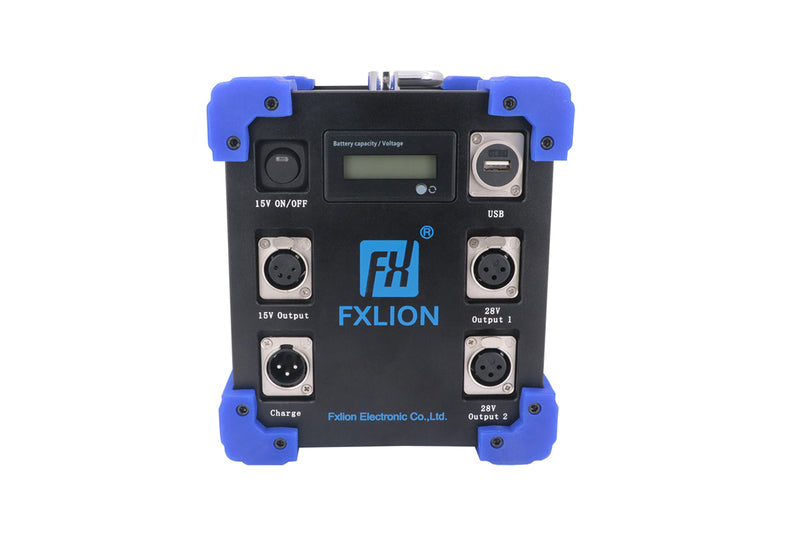 Fxlion FX-HP-7224 PLUS - High Power 15V, 28V, & 28V Lithium-Ion Mega Battery, 1232Wh