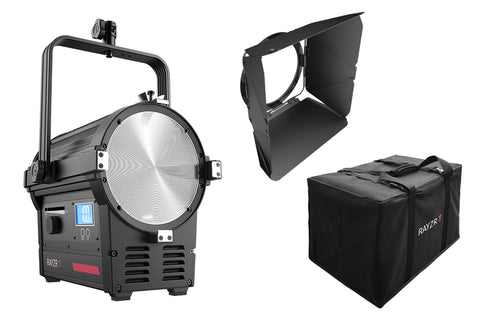 "Rayzr 7 300B Bi-Color Premium Pack 7"" LED Fresnel Light"