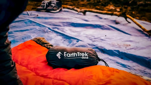 extra-large-comfy-travel-sleepingbag-liner-on-camping-mat
