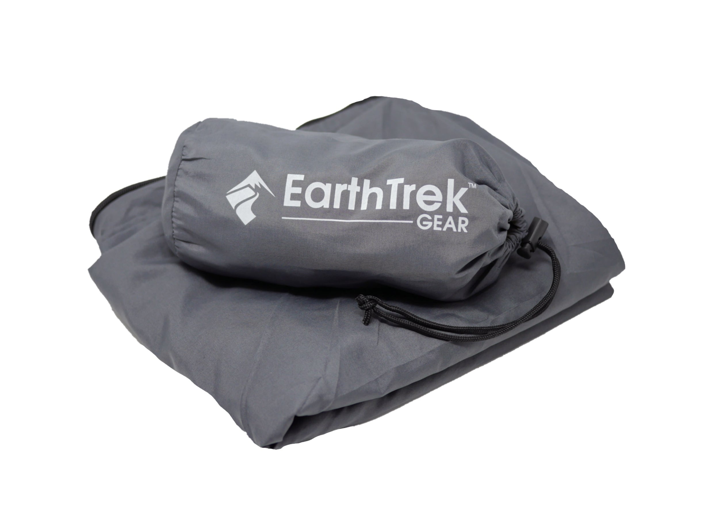 EarthTrek Jumbo Sleeping Bag Liner and Travel Blanket Combo Double Pack 2 Set