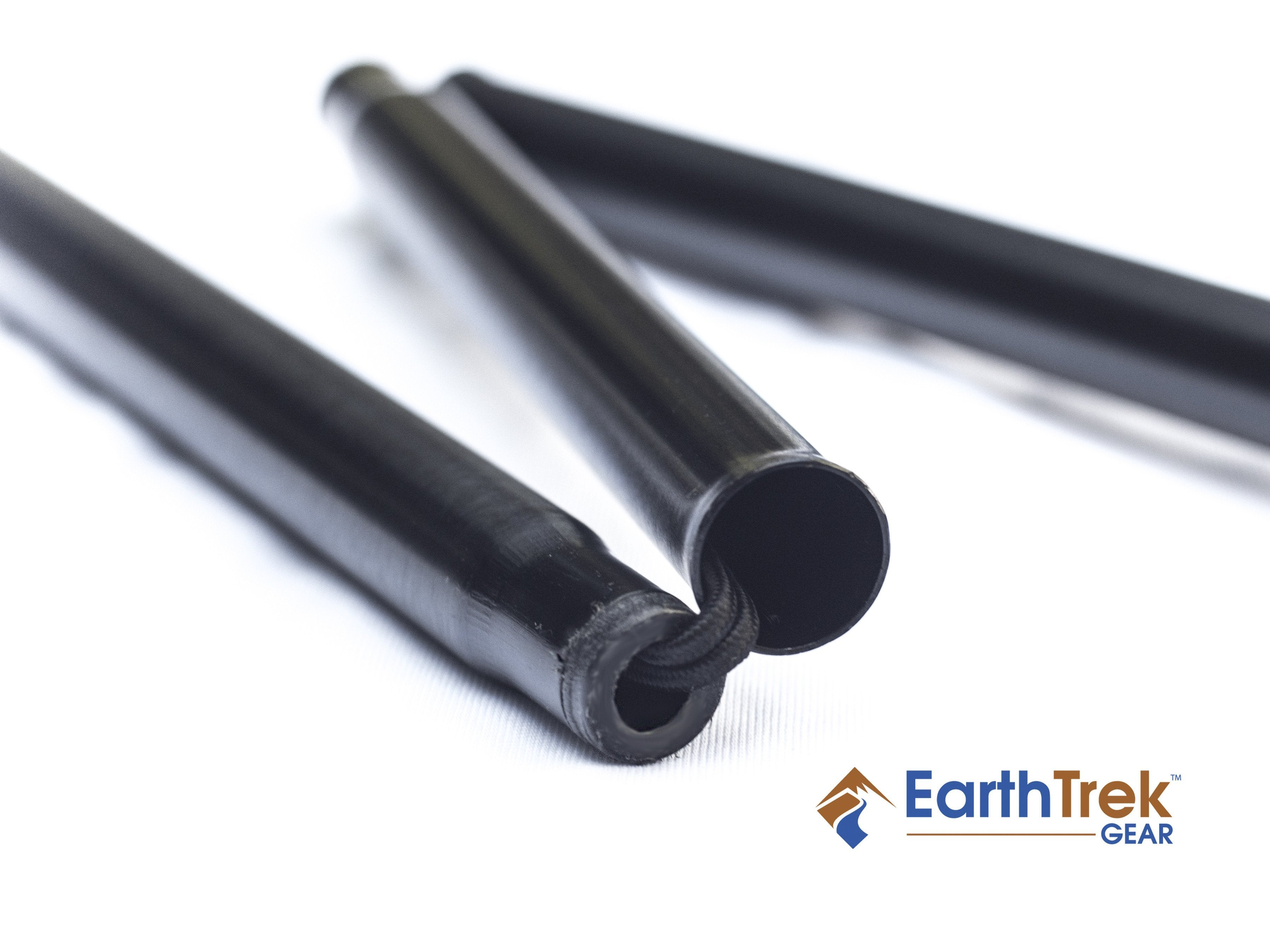 EarthTrek Pole 2-Pole Set - Trekking Hiking Walking,  - Collapsible Folding Pole,Earth Trek Gear - EarthTrek Gear