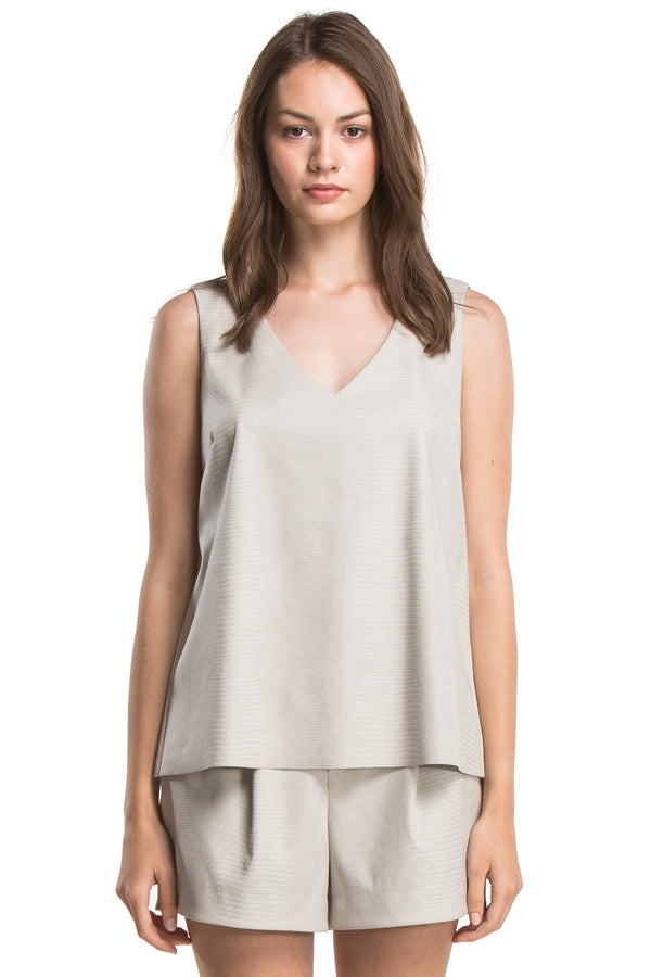MIA OPEN BACK TANK | DESERT