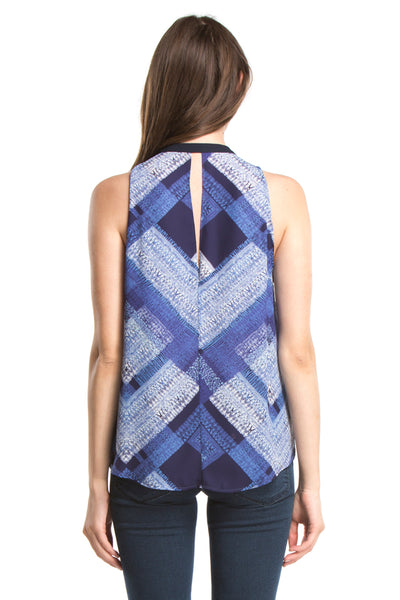 SIGNATURE SLEEVELESS | Blue