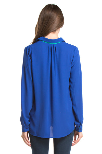 FINLEY TOP | Cobalt