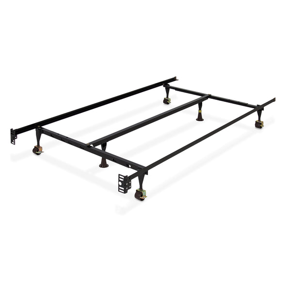 Adjustable Metal Bed Frame w/ Center Support