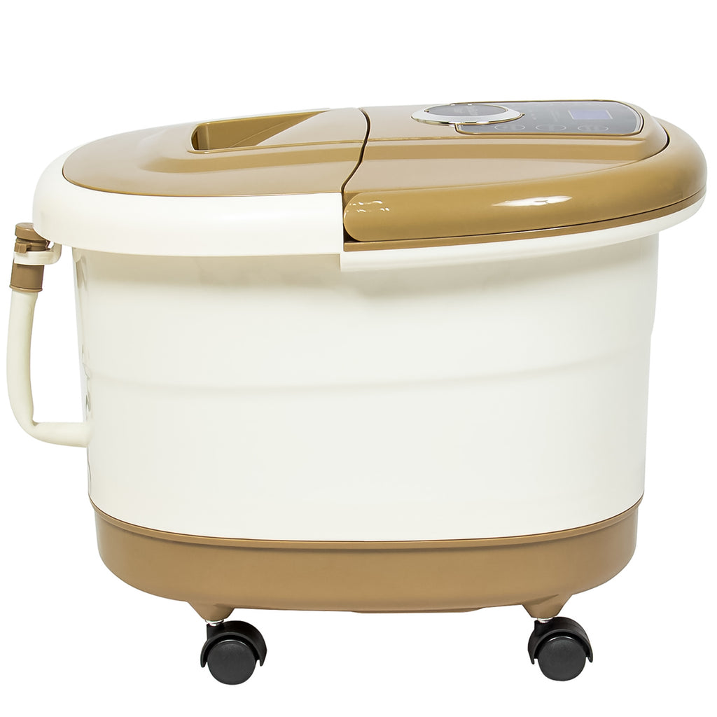 Portable Foot Spa Bath Massager - Tan