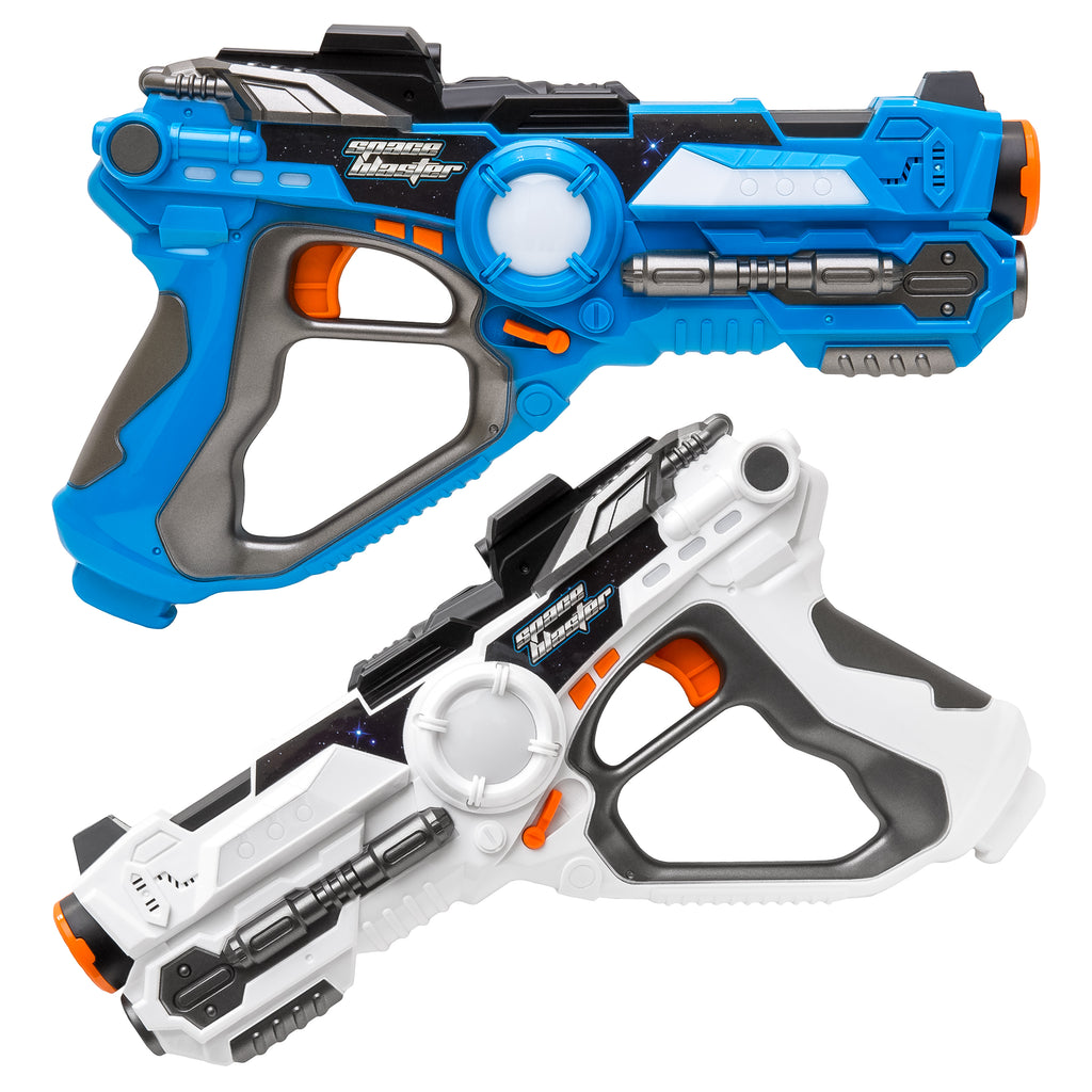 Best Choice Products 2 Pack Laser Tag Set For Kids W/ Multiplayer Mode