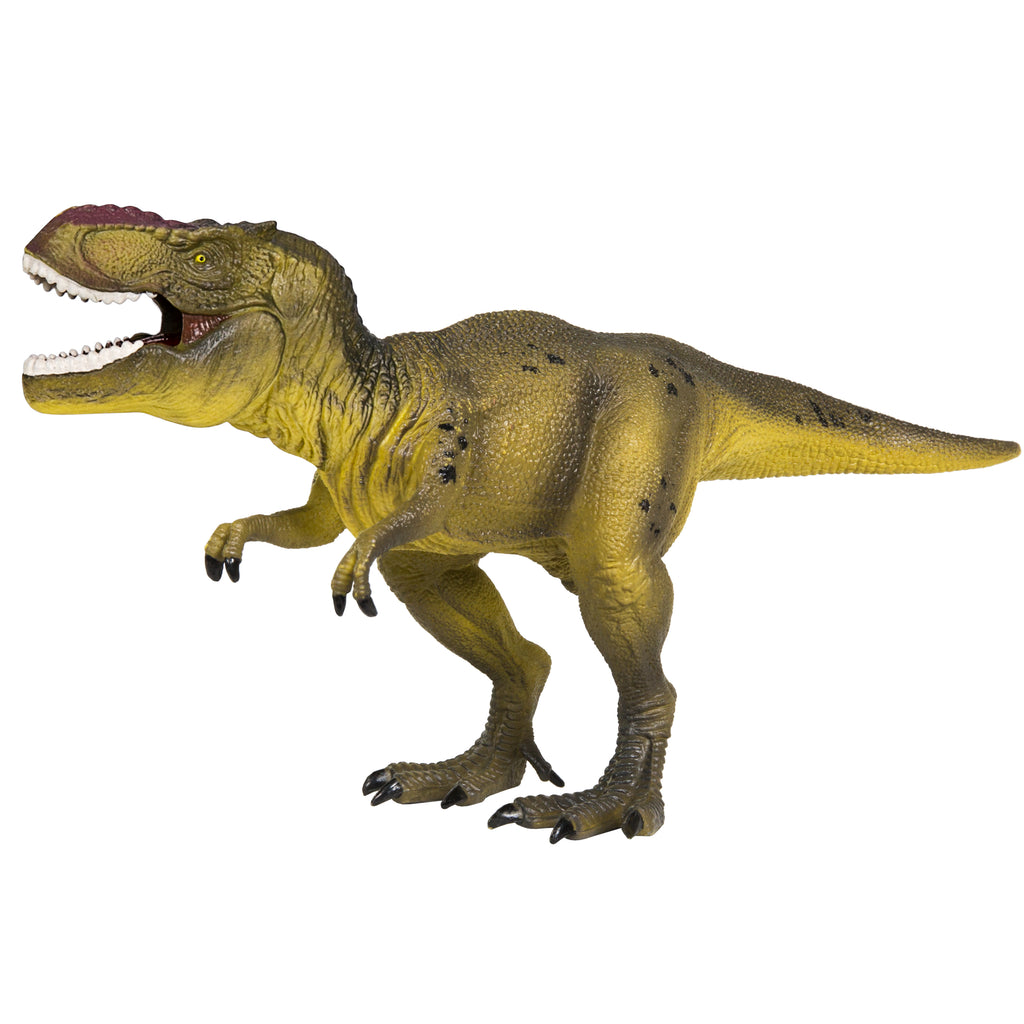 "Set Of 4 13"" Dinosaur Action Figures"