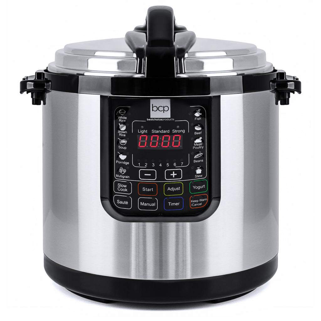 12-Liter Stainless Steel Electric Pressure Cooker