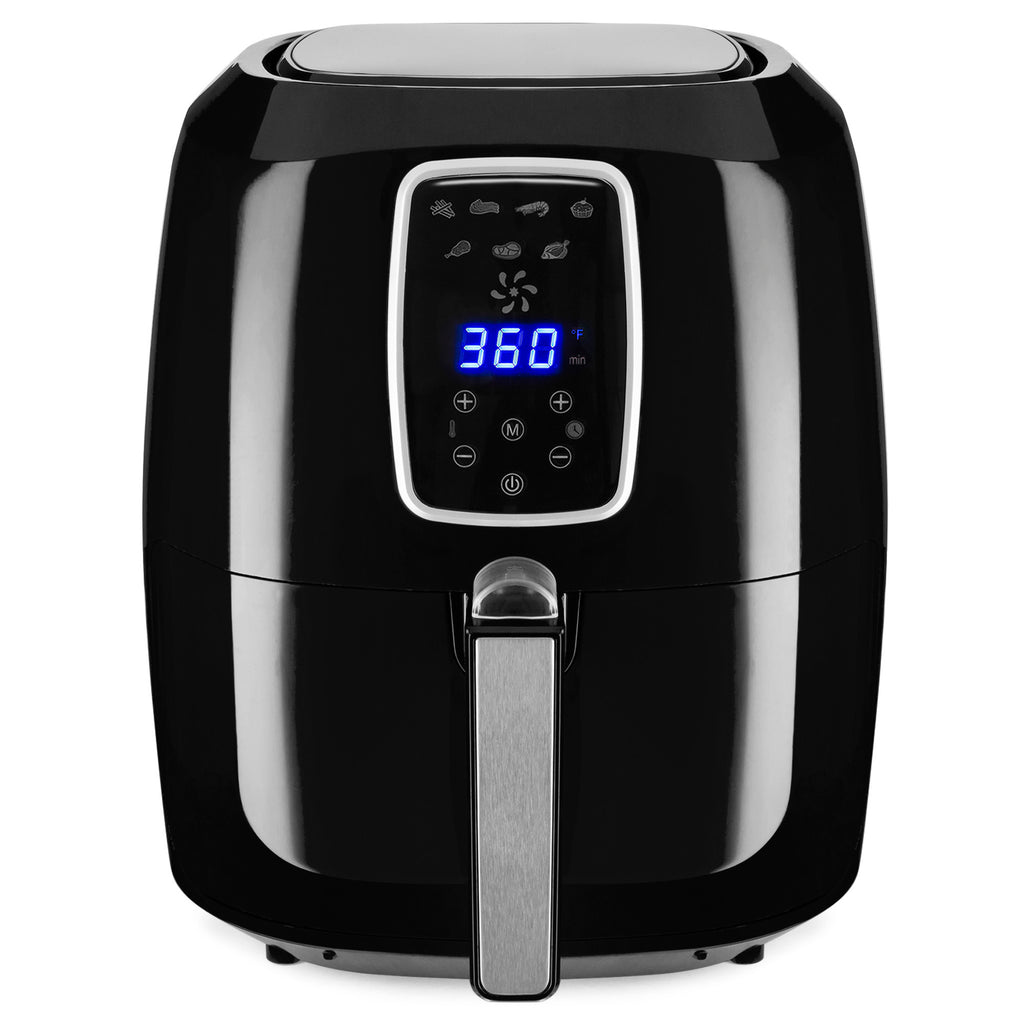 5.5qt 7-IN-1 Digital Non-Stick Air Fryer Appliance w/ LCD Screen, Timer