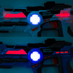 Set of 4 Kids Laser Tag Toy Guns w/ Multiplayer Mode