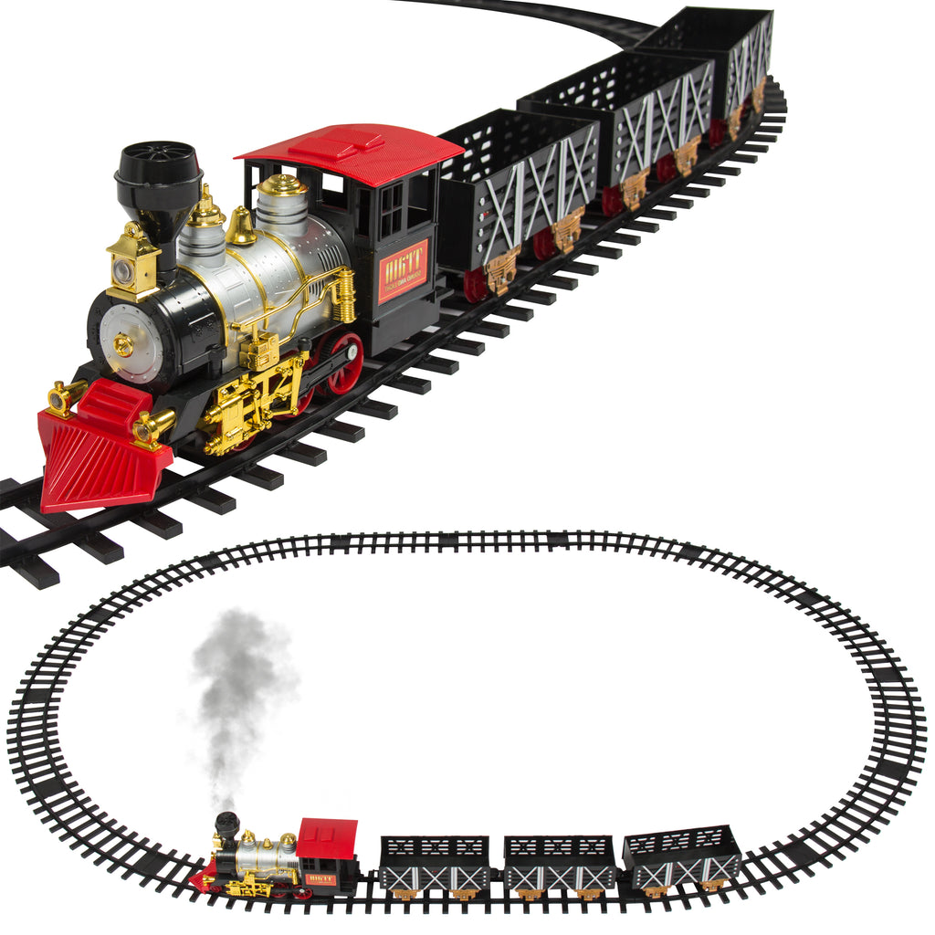 Classic Train Set With Real Smoke