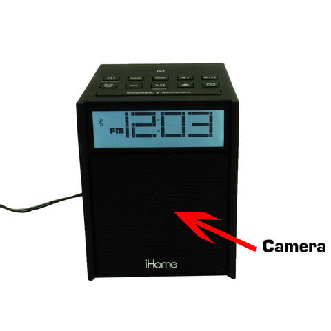 Bush Baby Bluetooth Clock WIFI Nanny Camera - Alliance Cameras - Quality Dashcams and Action Cameras