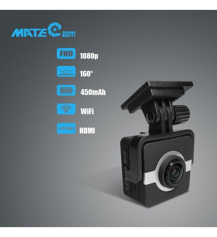 MateCam X1 1080P 160 Degree Wifi Standard Dashboard Camera - Alliance Cameras - Quality Dashcams and Action Cameras