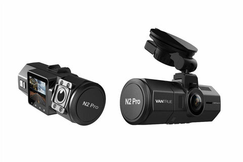 Vantrue N2 Pro 1080P Interior Dual Cameras Dashboard Camera - Alliance Cameras - Quality Dashcams and Action Cameras