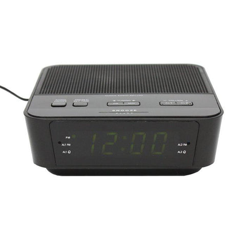 Zone Shield EZ Clock Radio Wired Nanny Camera - Alliance Cameras - Quality Dashcams and Action Cameras