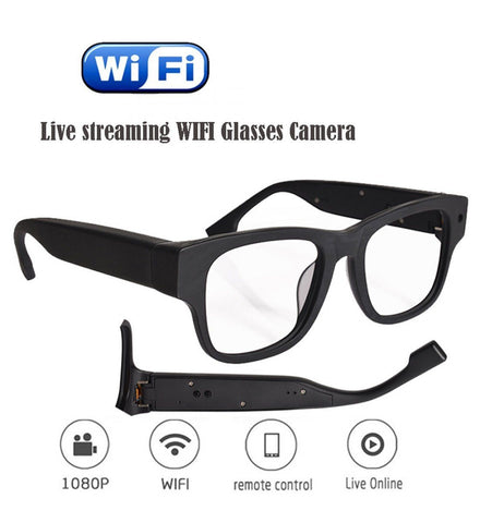 MateCam 1080P Glasses Nanny Camera - Alliance Cameras - Quality Dashcams and Action Cameras