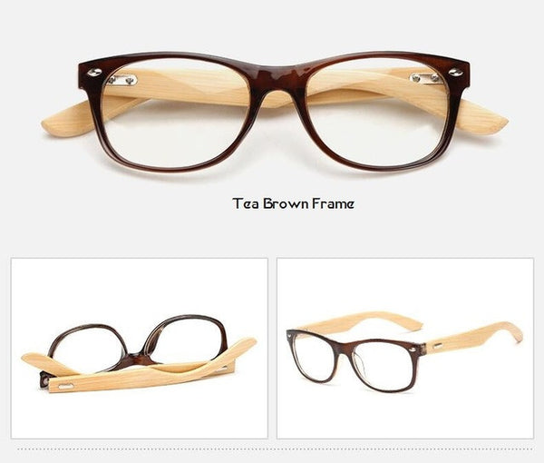 Classic Bamboo Wood Frame Glasses – The Woodhouse