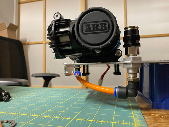ARB Air Coupler Relocation Kit