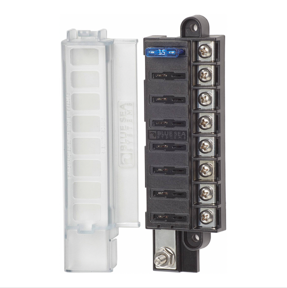 Blue Sea 8 Circuit Compact Fuse Box