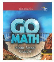 Go Math: Teacher Edition Grade 6 2014