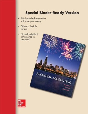 LOOSE-LEAF VERSION FINANCIAL ACCOUNTING