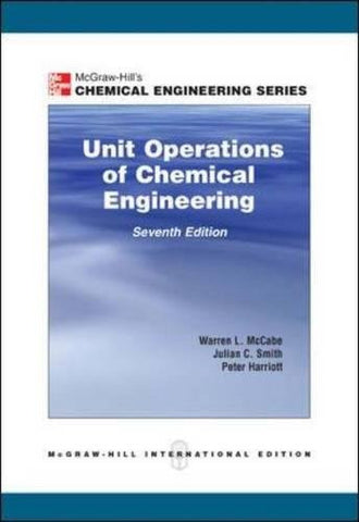 Unit Operations of Chemical Engineering,  7th Edition (College Ie (Reprints))