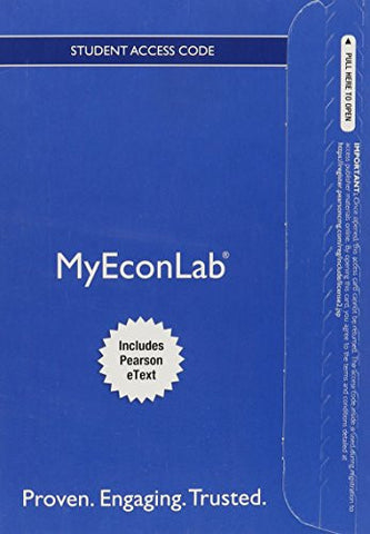 NEW MyEconLab with Pearson eText -- Access Card -- for Foundations of Macroeconomics