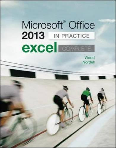Microsoft Office Excel 2013 Complete: In Practice (CIT)