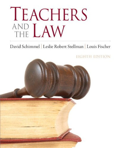 Teachers and the Law (8th Edition)